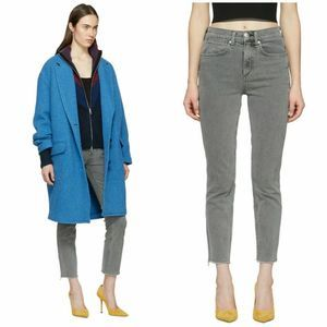 Rag & Bone High Rise Cigarette Ankle Daly Jeans